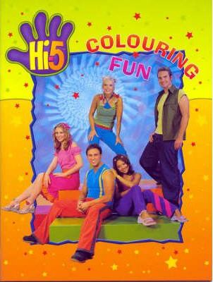 Hi-5 Colouring Book