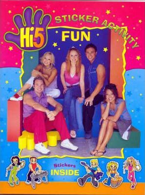 Hi-5 Sticker Book