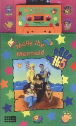 Hi 5 Molly the Mermaid Book & Tape