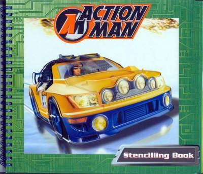 Action Man Stencilling Book BB