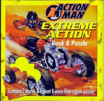 Action Man Book and Floor Puzzle