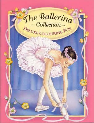 Ballerina Deluxe Colouring Book