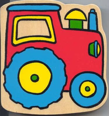 Wooden Top Board Book - out & about