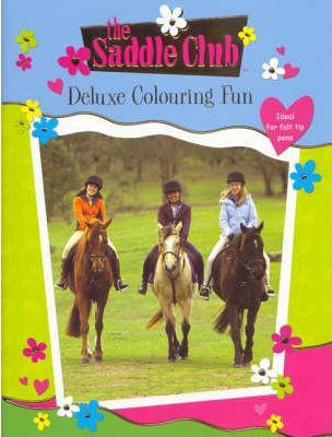 Saddle Club Deluxe Colouring Book