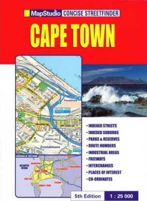 Concise Streetfinder Cape Town