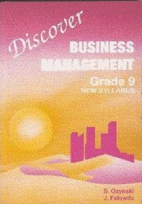 Discover Business Management Gr 9