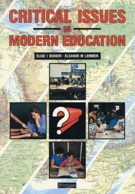Critical Issues in Modern Education