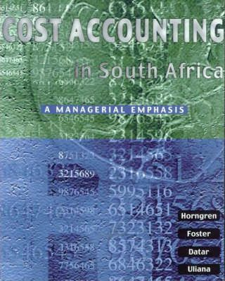 Cost Accounting in South Africa