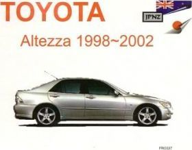 Toyota Altezza 98-02 Owners Handbook