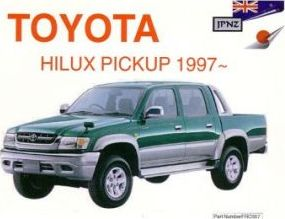 Toyota Hilux Pickup 97- Owners Manual