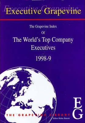 Grapevine Index of the World's Top Company Executives