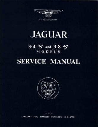 jaguar s type 3 4 3 8 workshop manual brooklands books ltd rh bookdepository com jaguar repair manual free download Jaguar Service Manual