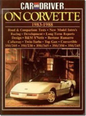 """Car & Driver"" on Corvette, 1983-88"