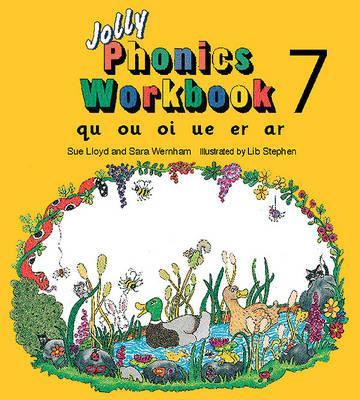FREE* Jolly Phonics Workbook 7 : in Precursive Letters (BE) download ...