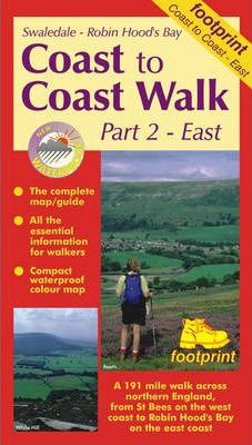 Coast to Coast Walk: East : Map and Guide