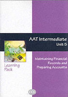 Aat Intermediate Unit 5: Maintaining Financial Records