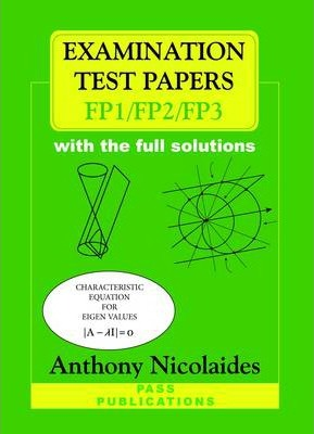 Examination Test Papers for FP1/FP2/FP3 with Full Solutions