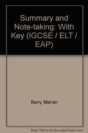 Summary and Note-taking With Key