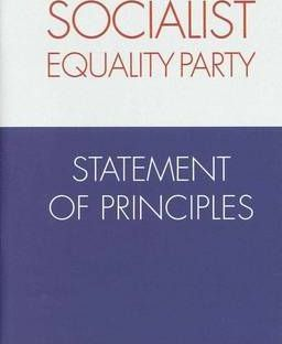 Socialist Equality Party Statement of Principles