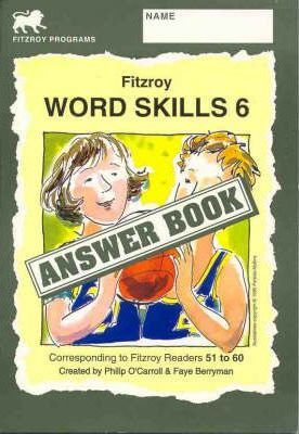 Fitzroy Word Skills 6: Answer Book