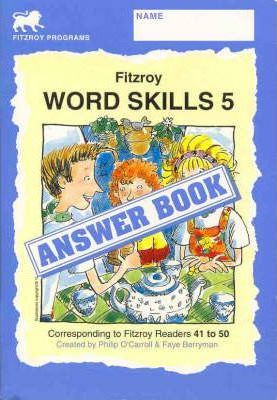 Fitzroy Word Skills 5: Answer Book