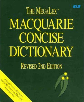 Megafloppy Concise Macquarie Dictionary for Windows