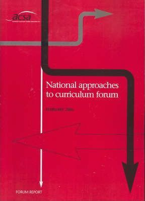 Approaches to National Curriculum