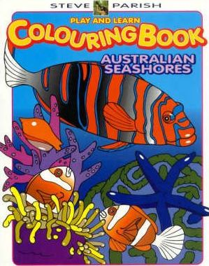 Play and Learn Colouring Book - Australian Seashores