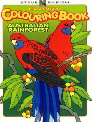 Play and Learn Colouring Book - Australian Rainforest