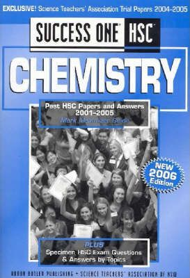 Success One HSC Chemistry
