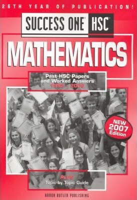 Success One HSC Mathematics