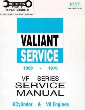 Valiant: 1969-1970 VF (6 Cyl & V8)