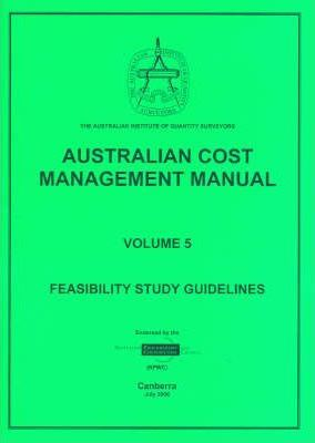 Australian Cost Management Manual