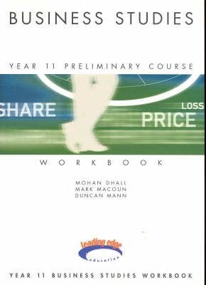 Business Studies: Preliminary Course Text/Workbook Package
