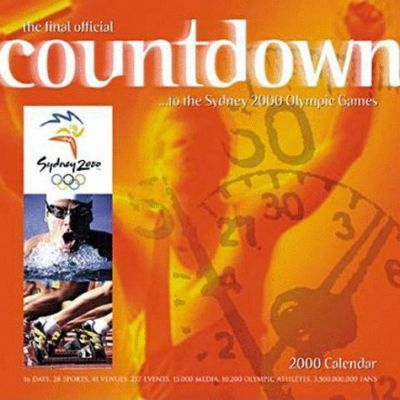 Countdown to Sydney 2000 Olympic Games: Wall Calendar: 2000