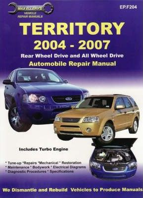 Ford - Territory Automotive Repair Manual.