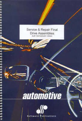 Service Final Drive Assemblies: Aur12670a : Fairview Educational