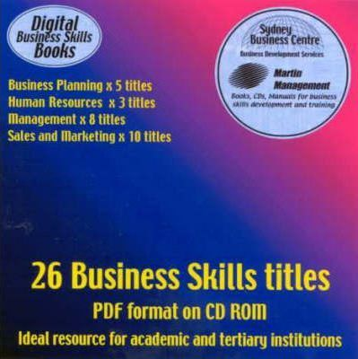 Business Planning / Human Resources / Management / Sales and Marketing