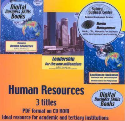 Human Resources: 3 Titles in Pdf Format on CD-Rom
