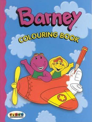 Barney Colouring Book