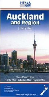 Auckland and Region  Handy Map Standard