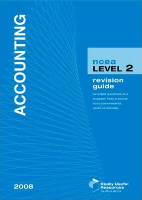 NCEA Level 2 Accounting Revision Guide 2008