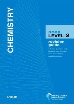 NCEA Level 2 Chemistry Revision Guide 2008