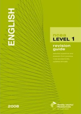 NCEA Level 1 English Revision Guide 2008