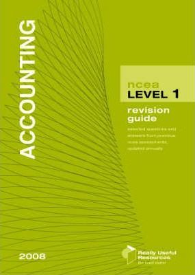 NCEA Level 1 Accounting Revision Guide 2008