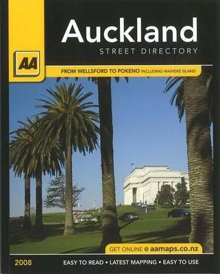 AA Auckland Compact Street Directory 2008