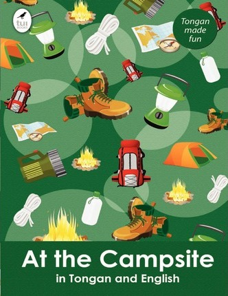 At the Campsite in Tongan and English Cover Image