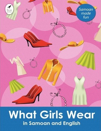 What Girls Wear in Samoan and English Cover Image