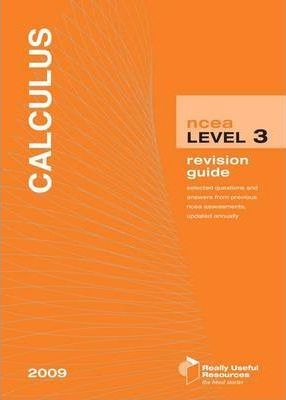 NCEA Level 3 Calculus Revision Guide