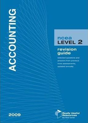NCEA Level 2 Accounting Revision Guide